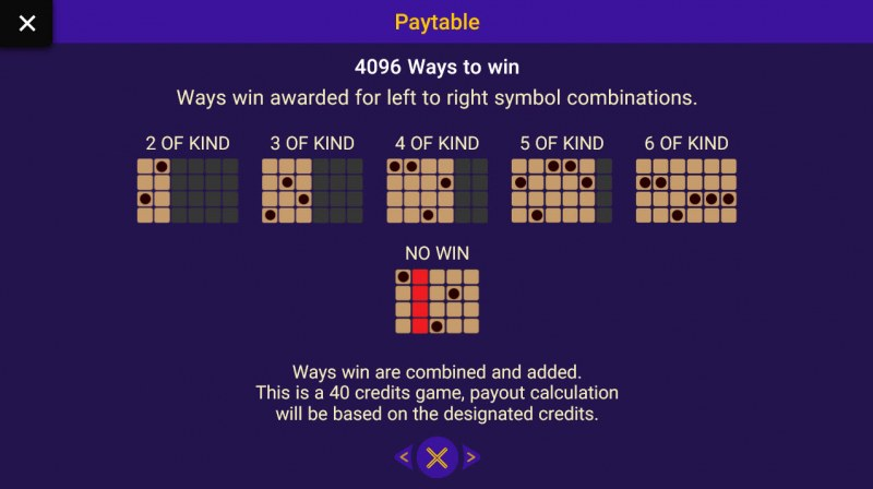 Gold Panther :: 4096 Ways to Win