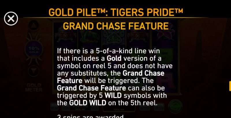 Gold Pile Tigers Pride :: Grand Chase Feature