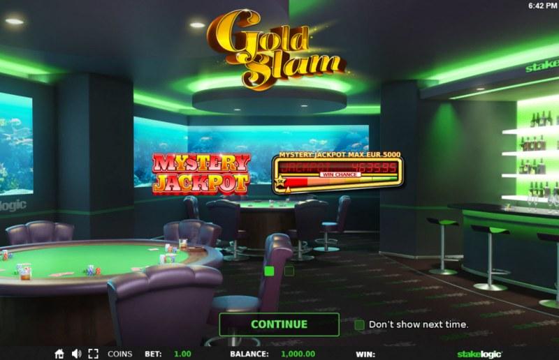 Gold Slam :: Introduction