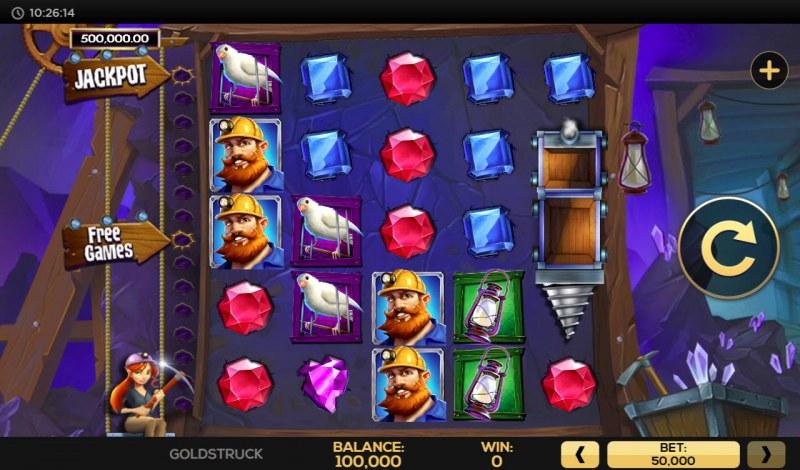 Gold Struck :: Main Game Board