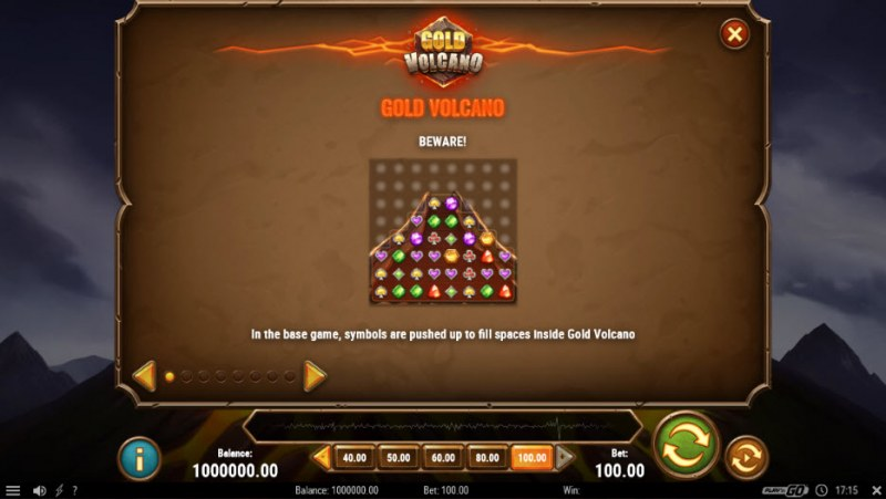 Gold Volcano :: Feature Rules