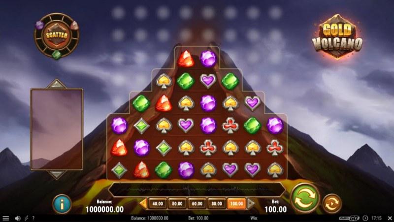 Gold Volcano :: Main Game Board