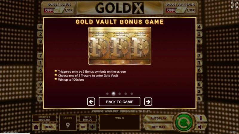 Gold X :: Bonus Feature
