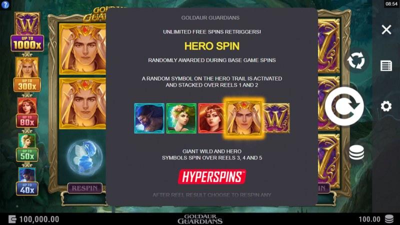 Goldaur Guardians :: Hero Spin