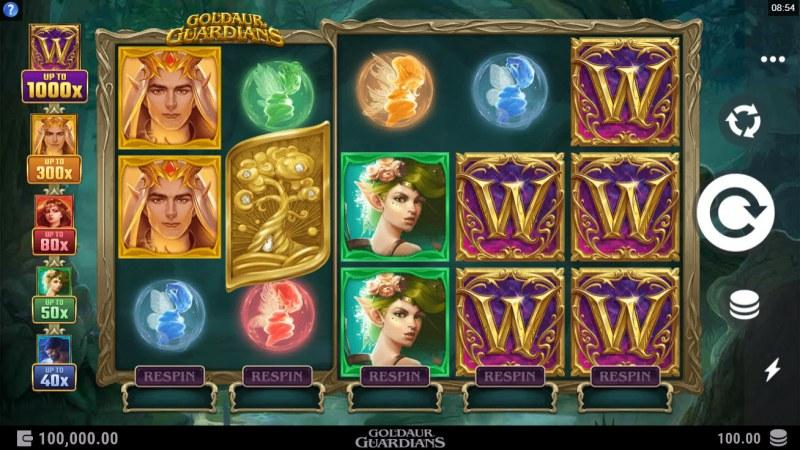 Goldaur Guardians :: Main Game Board