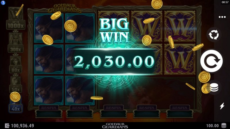 Goldaur Guardians :: Big Win