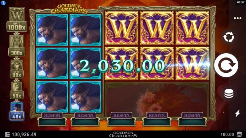 Goldaur Guardians :: Multiple winning paylines