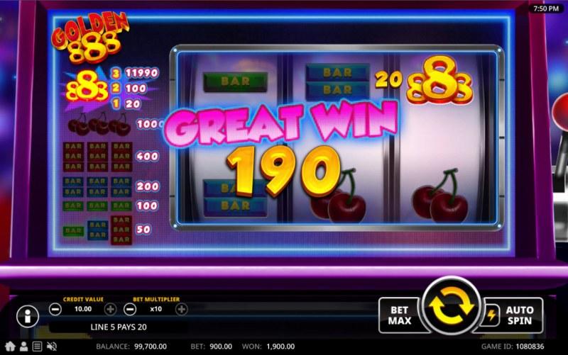 Golden 888 :: Great Win