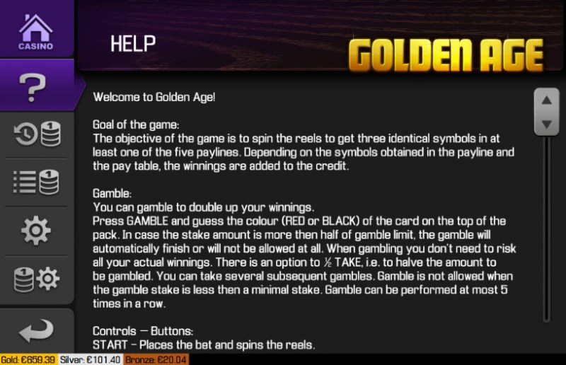 Golden Age :: General Game Rules