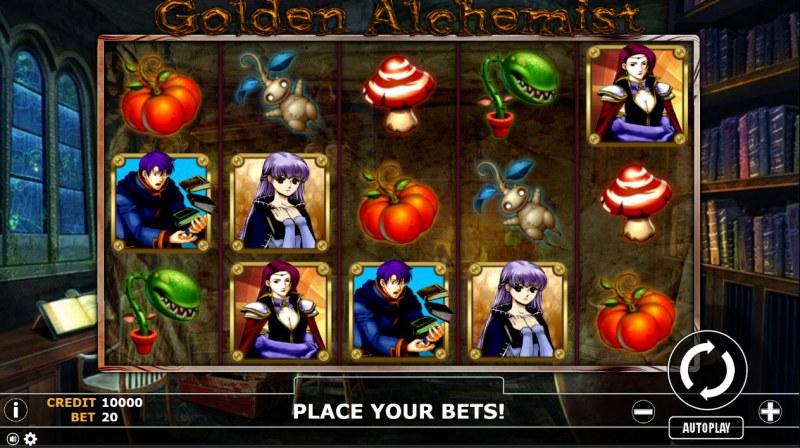 Golden Alchemist :: Main Game Board