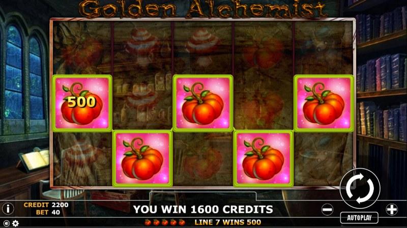 Golden Alchemist :: Five of a kind