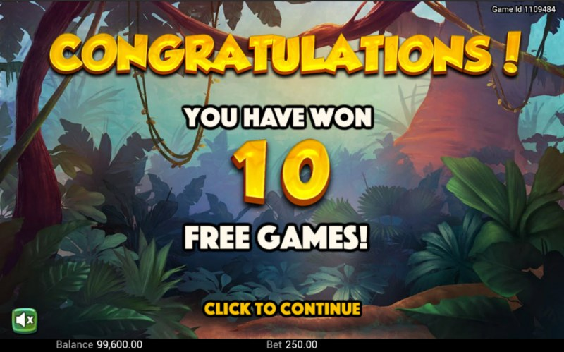 Golden Amazon :: 10 free spins awarded