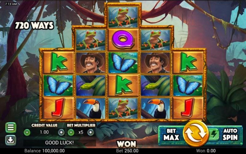 Golden Amazon :: Base Game Screen