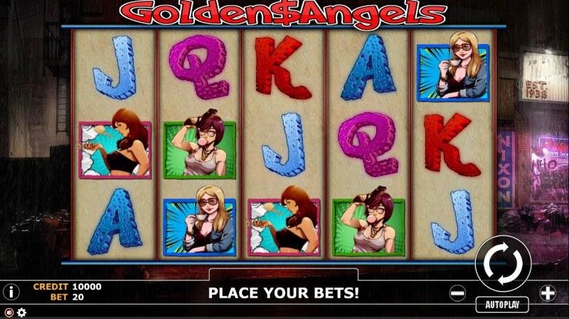 Golden Angels :: Main Game Board