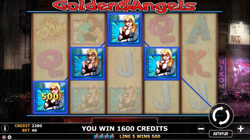 Golden Angels :: Four of a kind