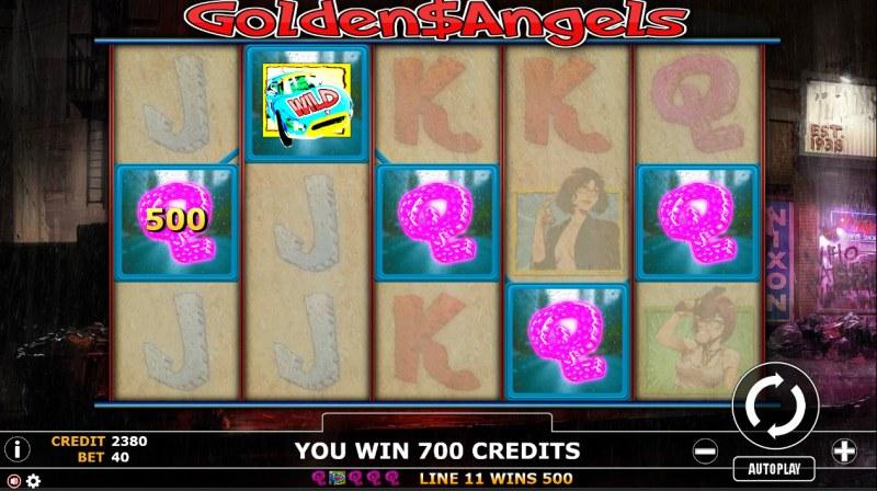 Golden Angels :: A winning 5 of a kind