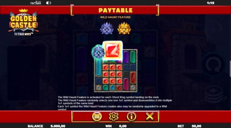 Golden Castle Titanways :: Wild Symbol Rules