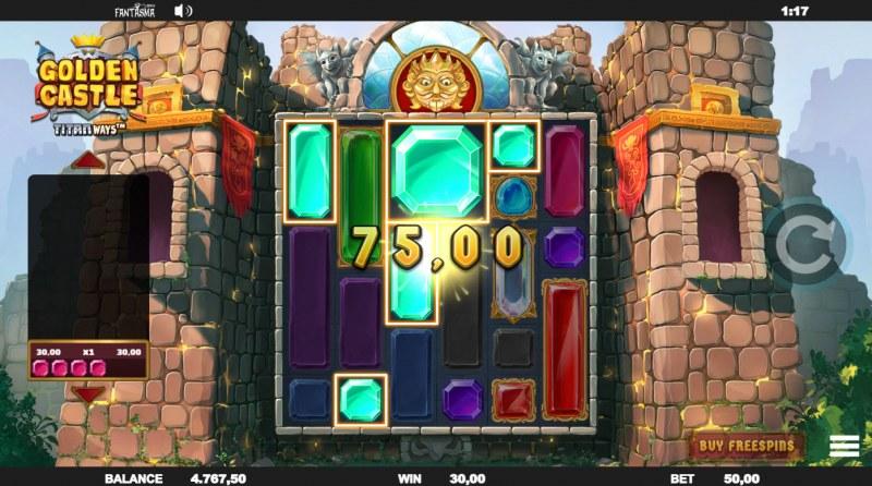 Golden Castle Titanways :: Multiple winning combinations