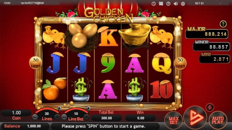 Golden Chicken :: Main Game Board