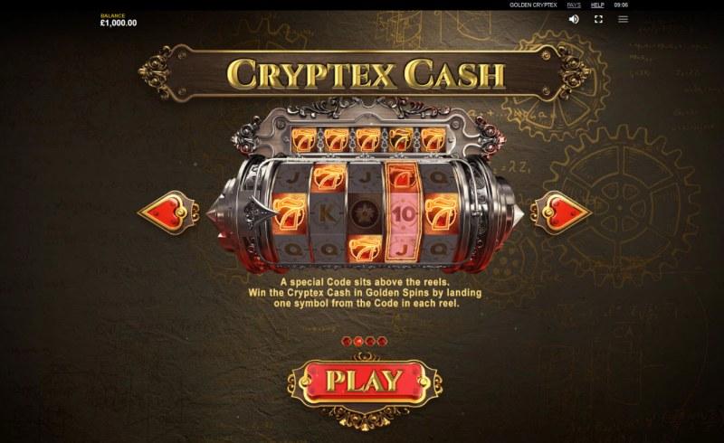 Golden Cryptex :: Cryptex Cash