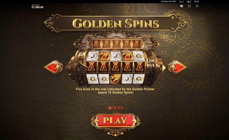 Golden Cryptex :: Golden Spins