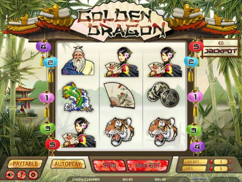 Golden Dragon :: Main Game Board