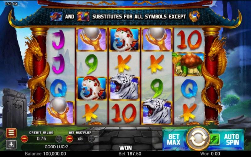 Golden Dragon :: Main Game Board