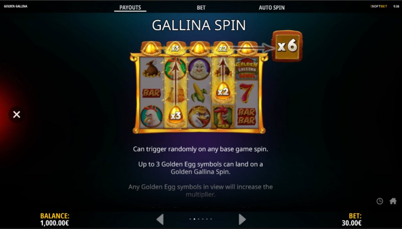 Golden Gallina :: Feature Rules