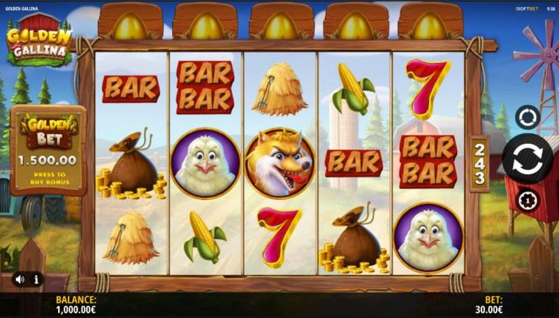 Golden Gallina :: Base Game Screen