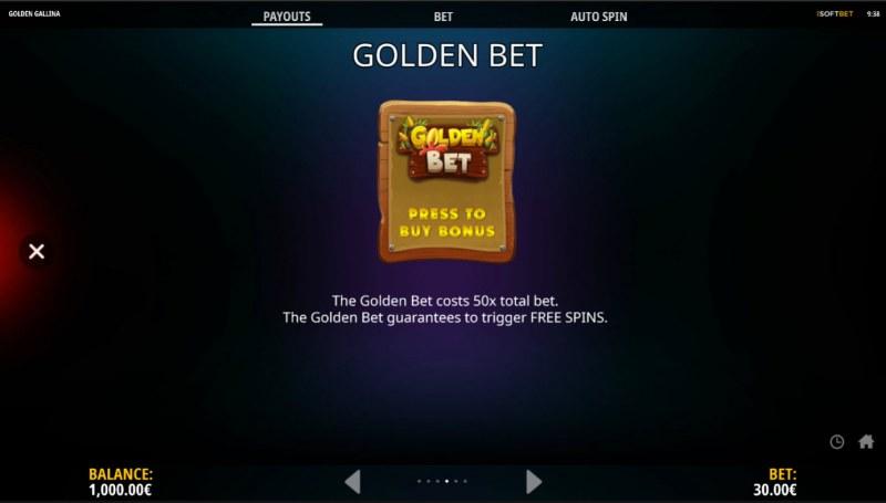Golden Gallina :: Golden Bet