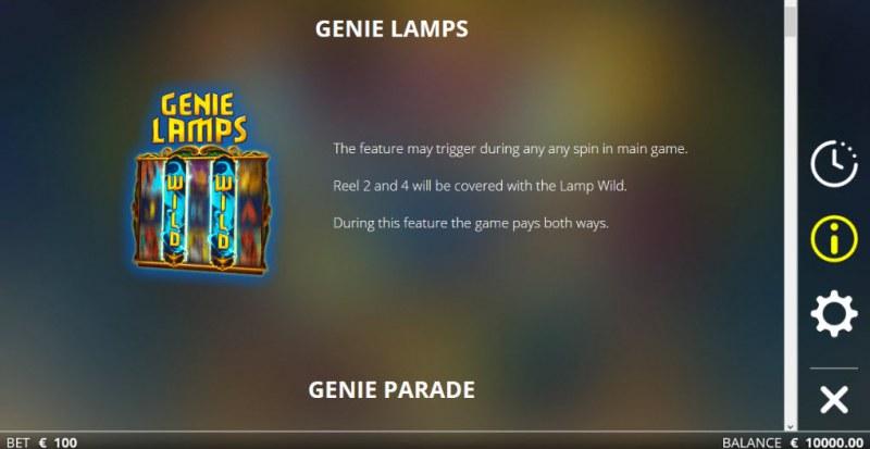Golden Genie & the Walking Wild :: Genie Lamp