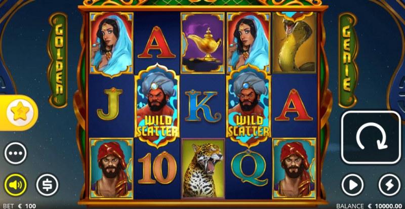 Golden Genie & the Walking Wild :: Main Game Board
