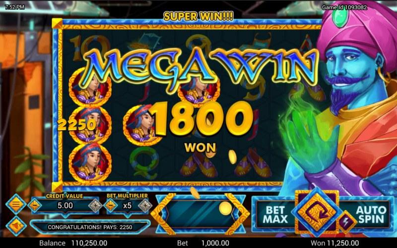Golden Genie :: Mega Win