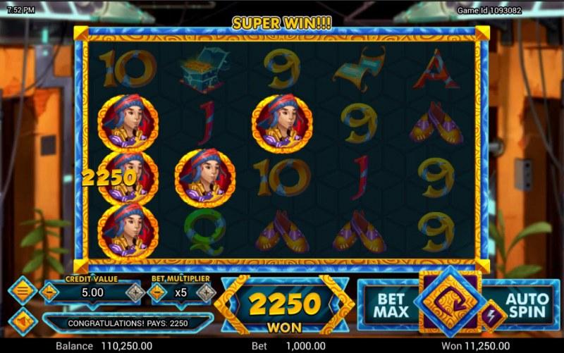 Golden Genie :: Multiple winning combinations