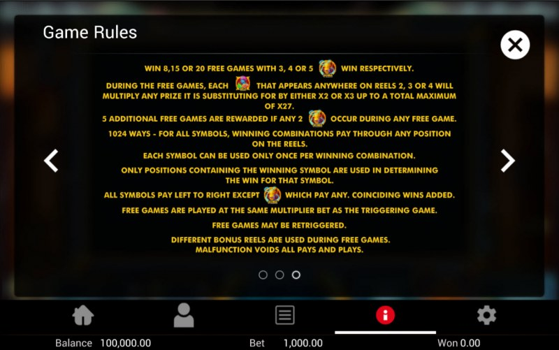 Golden Genie :: Feature Rules