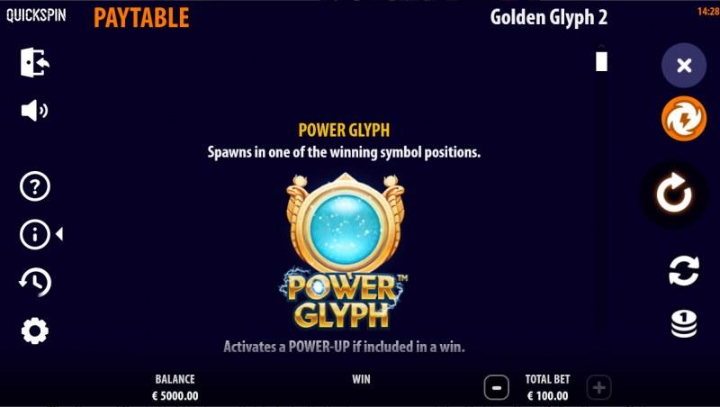 Golden Glyph 2 :: Power Glyph