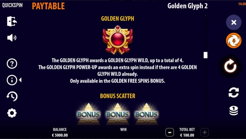 Golden Glyph 2 :: Golden Glyph