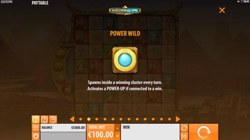 Golden Glyph :: Power Wild