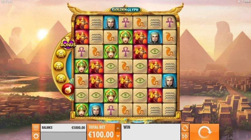 Play slots at Betflip Casino: Betflip Casino featuring the Video Slots Golden Glyph with a maximum payout of $1,300,000
