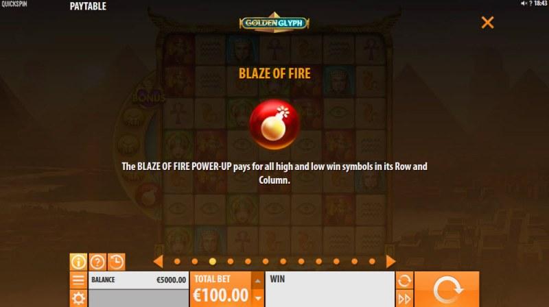 Golden Glyph :: Blaze of Fire