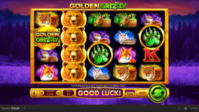 Golden Grizzly :: Main Game Board
