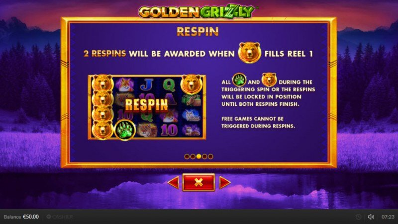 Golden Grizzly :: Respin Rules