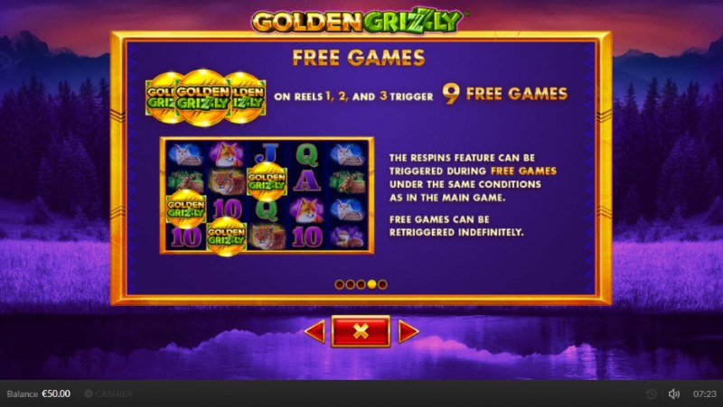 Golden Grizzly :: Free Games Rules