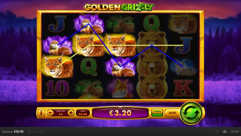 Golden Grizzly :: Multiple winning paylines