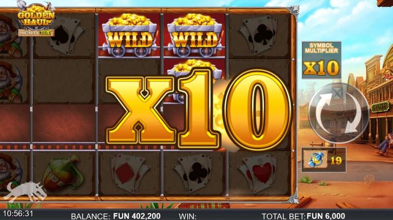 Golden Haul Infinity Reels :: X10 win multiplier