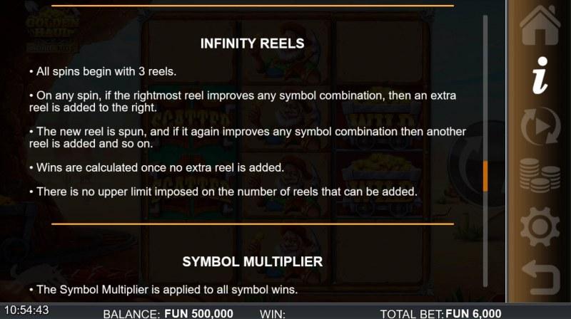 Golden Haul Infinity Reels :: Infinity Reels