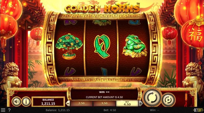 Golden Horns :: Main Game Board
