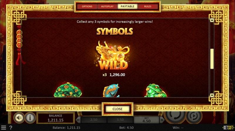 Golden Horns :: Wild Symbol Rules