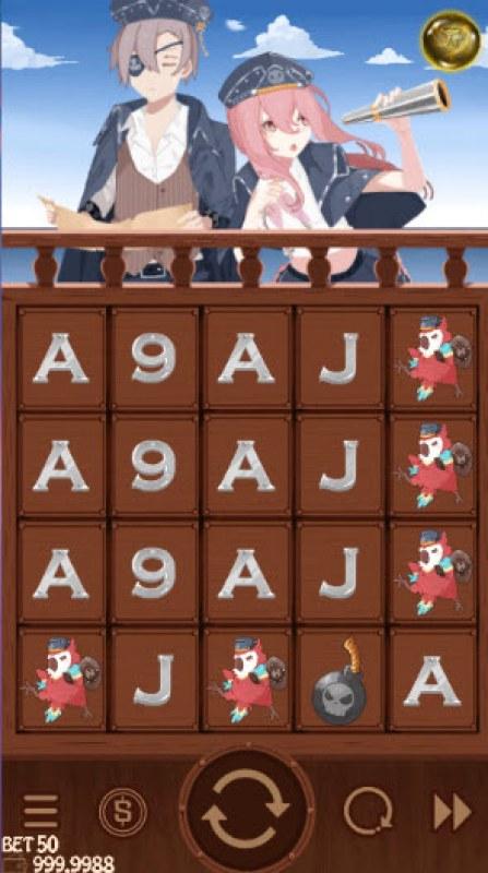 Golden Island :: Main Game Board