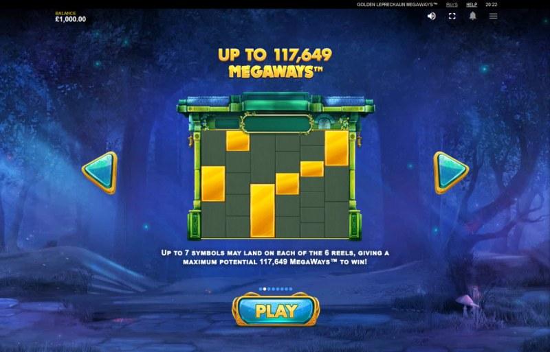 Golden Leprechaun Megaways :: Up to 117649 ways to win